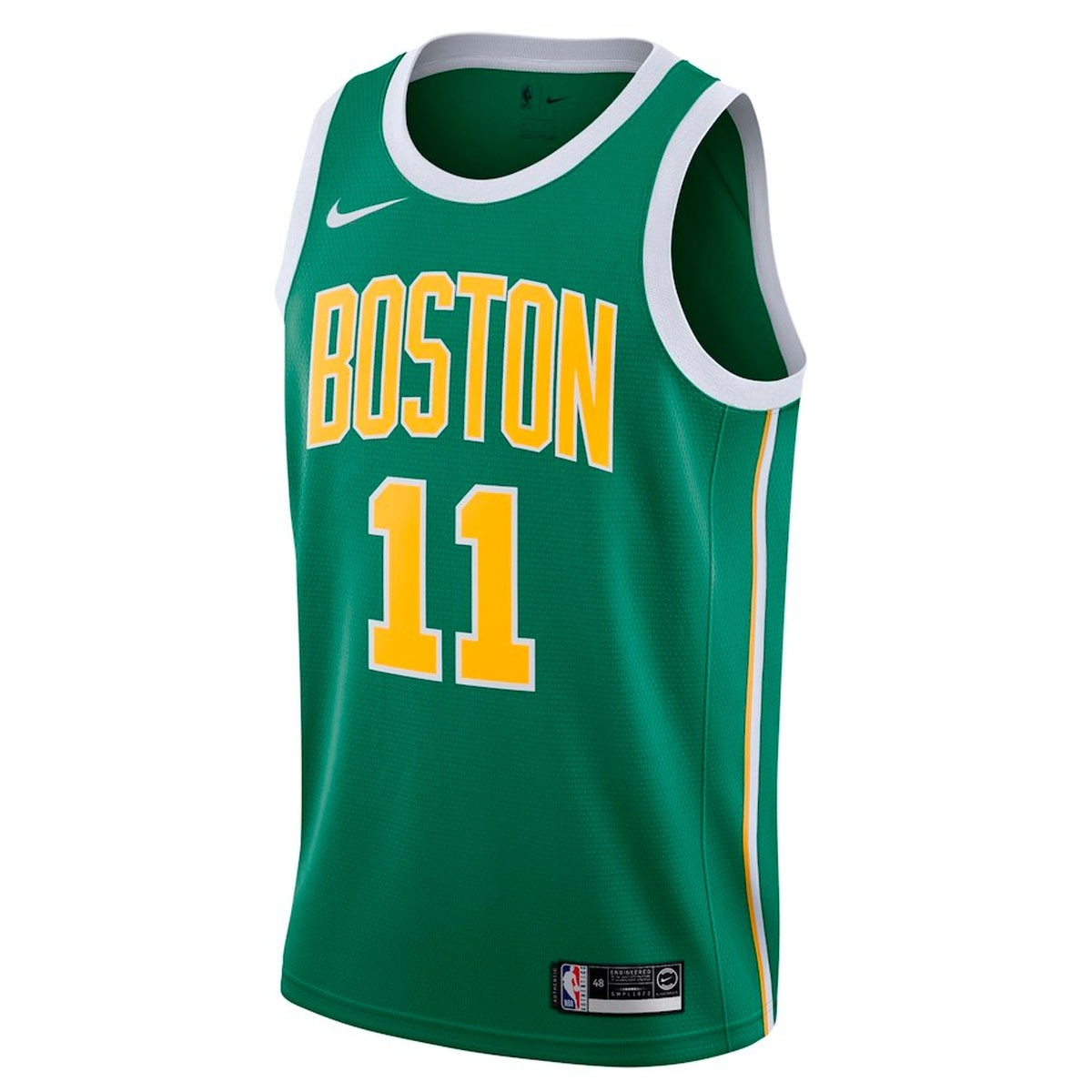 Nike Junior NBA Celtics Swingman Jersey Irving 'Earned Edition'