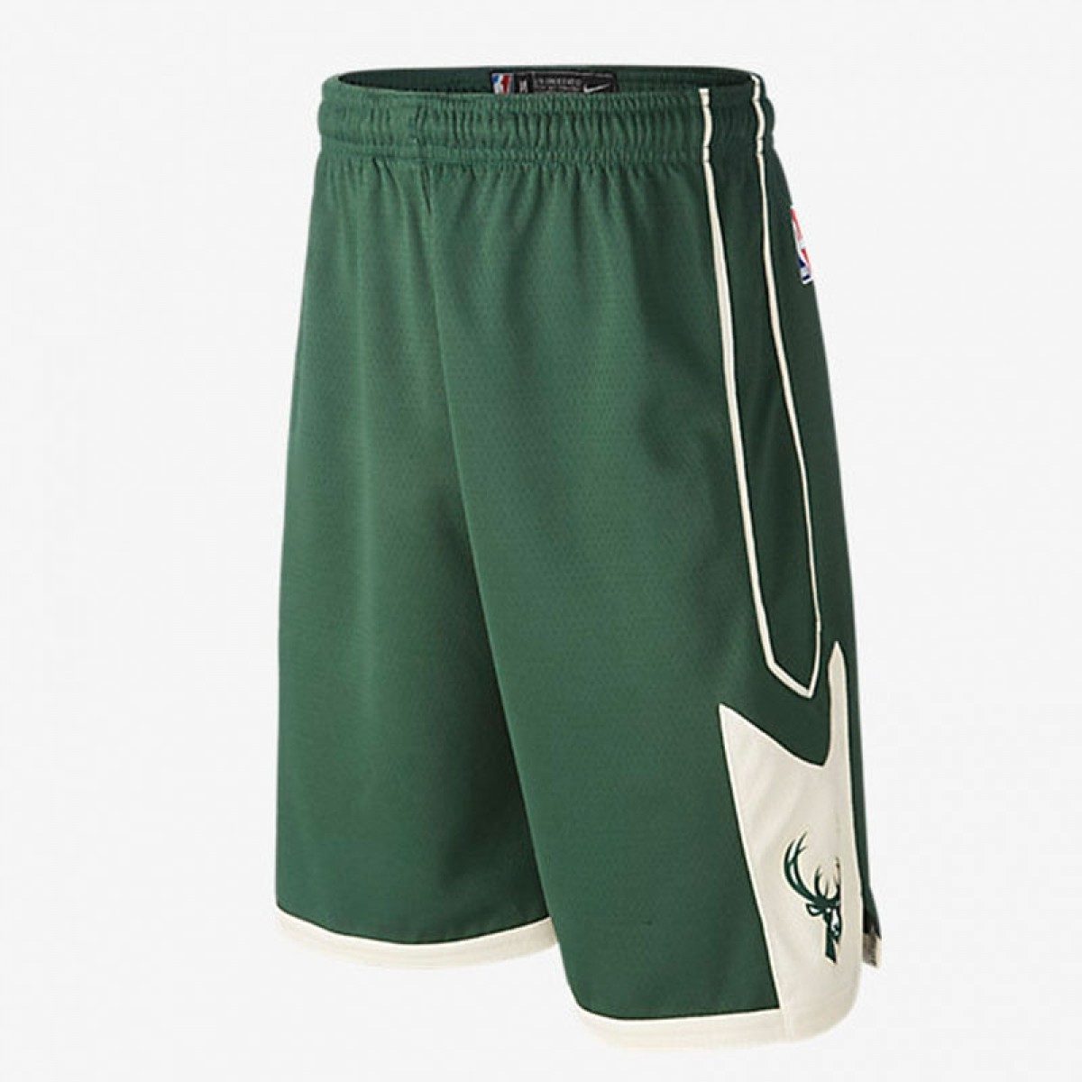 Nike Junior NBA Bucks Swingman Short 'Icon Edition' EZ2B7BABZ-BCKS