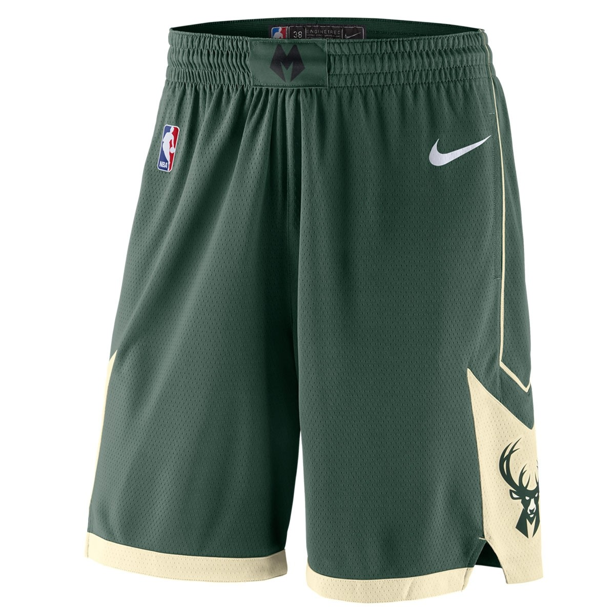 Nike Junior NBA Bucks Swingman Short 'Icon Edition'