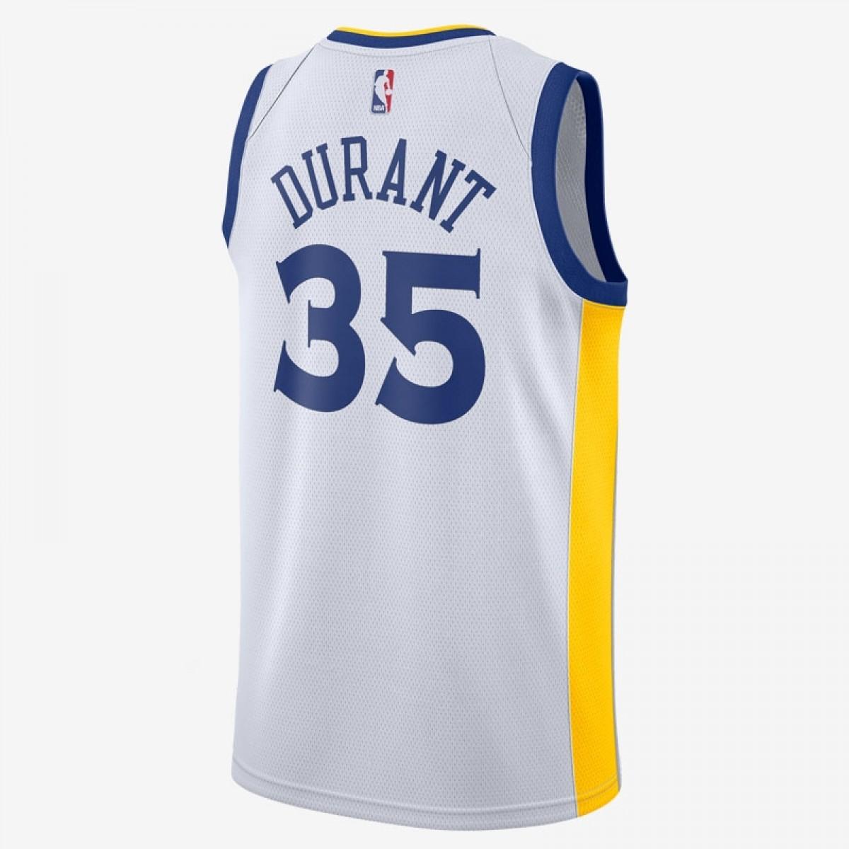 Nike NBA GSW Swingman Jersey Durant 'Association Edition' EZ2B7BZ1P-GSAKD