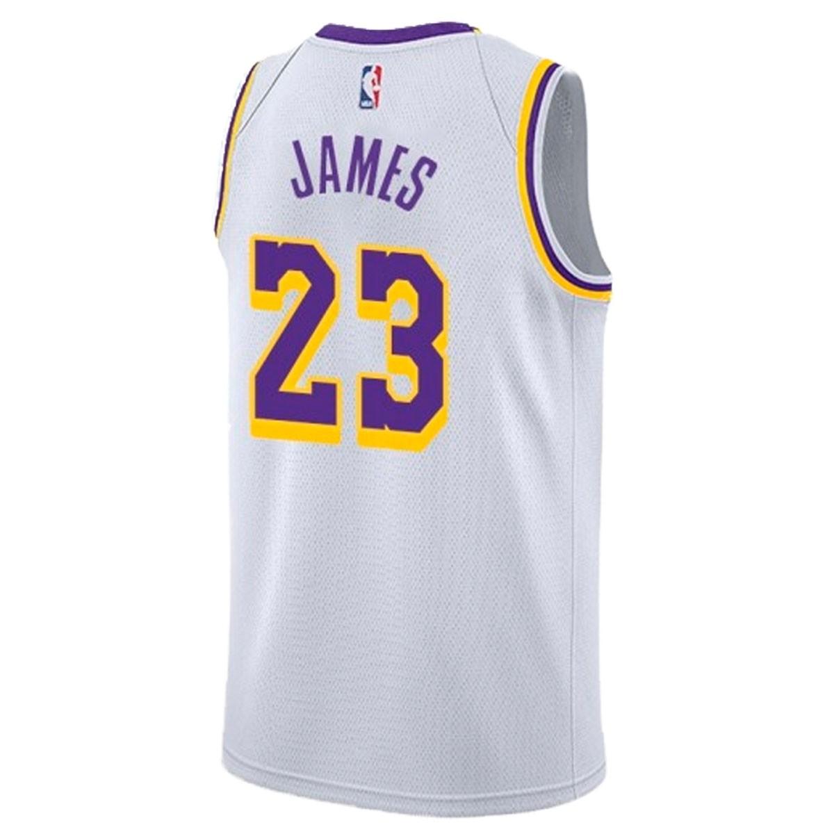 Nike Junior NBA LAL Swingman Jersey James 'Association Edition' EZ2B7BZ1P-LALJA