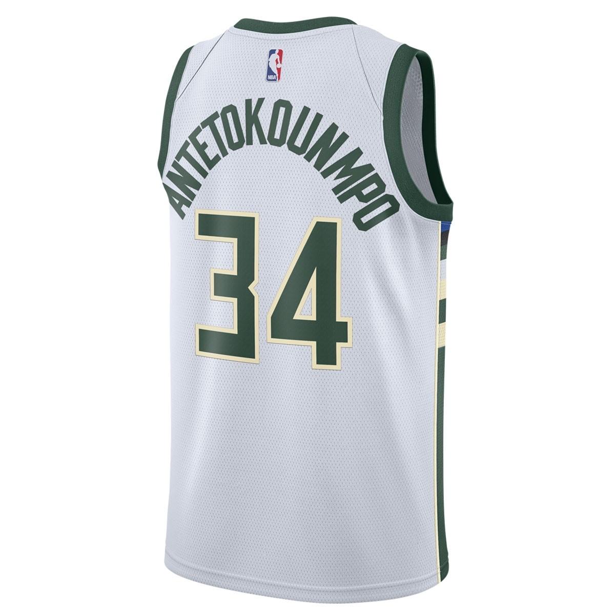 Nike Junior NBA MB Swingman Jersey Antetokounmpo 'Association Edition' EZ2B7BZ1P-MBGAA