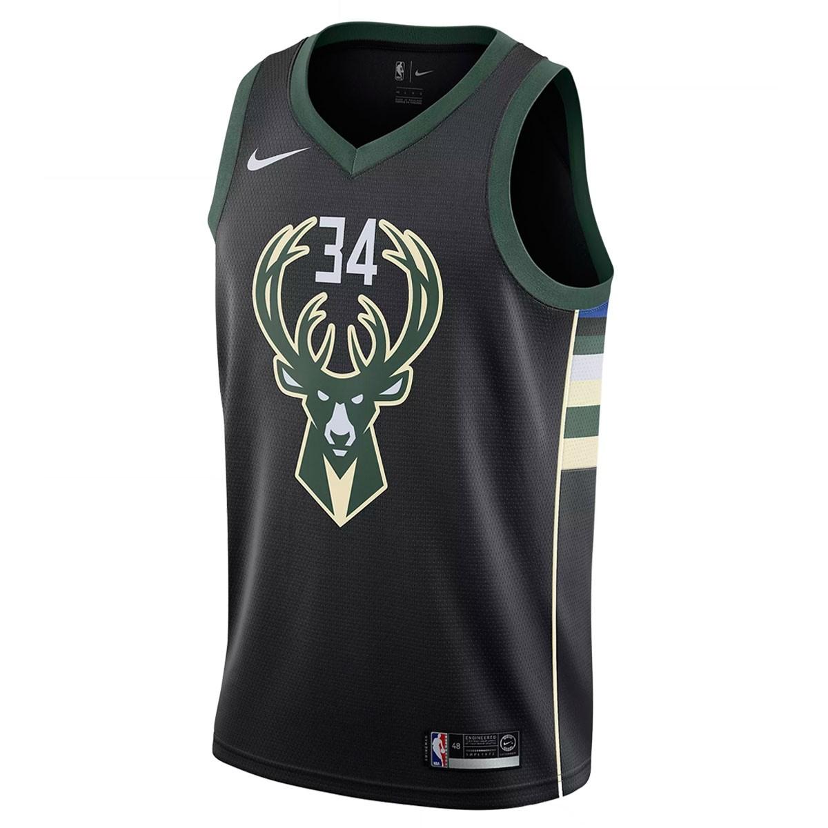 Nike Junior NBA MB Swingman Jersey Antetokounmpo 'Statement Edition'