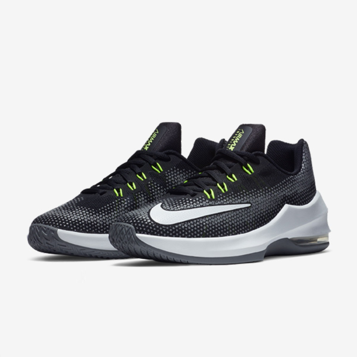 Nike Air Max Infuriate GS 'Black/Grey' 869991-005