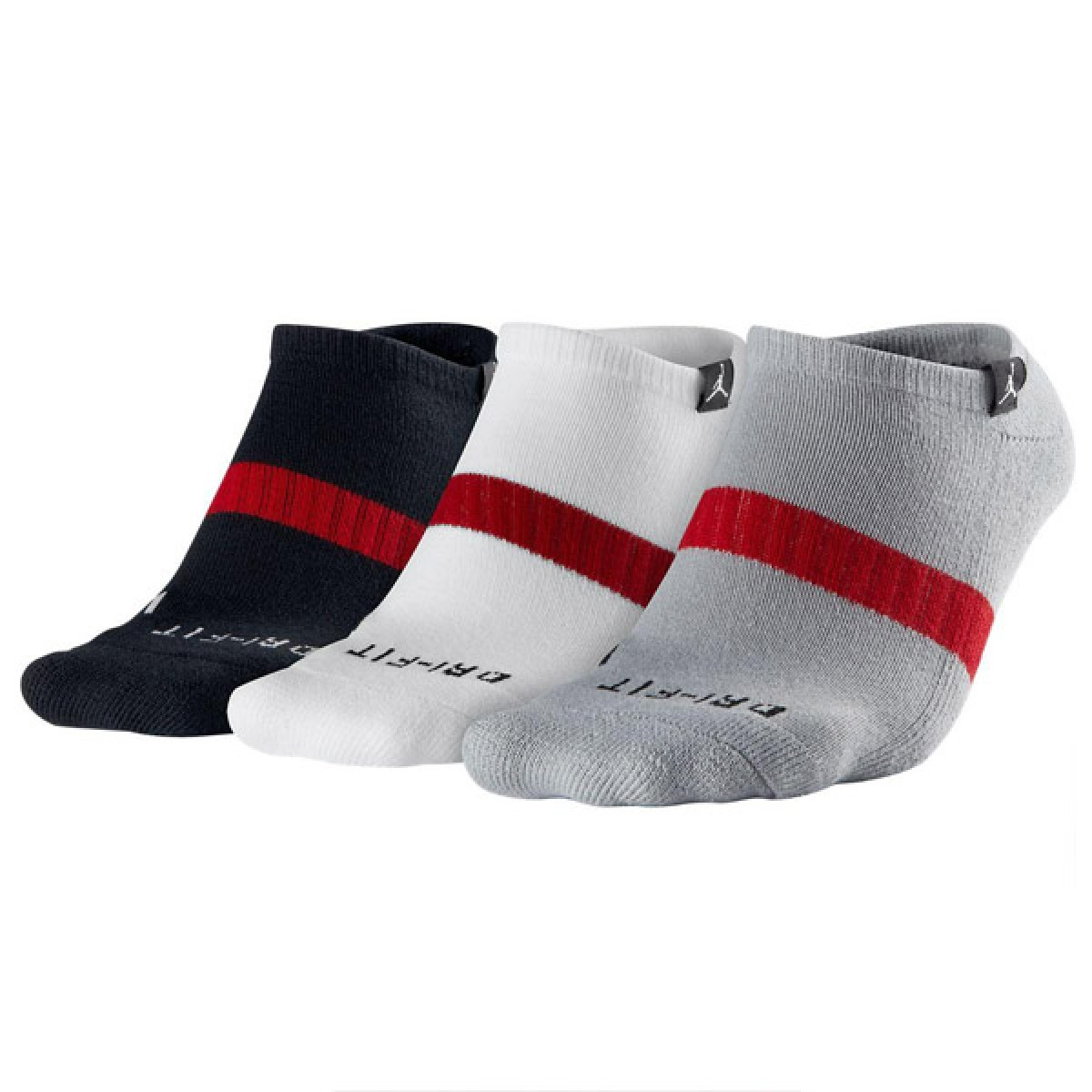 Jordan No Show 3 Pares Socks