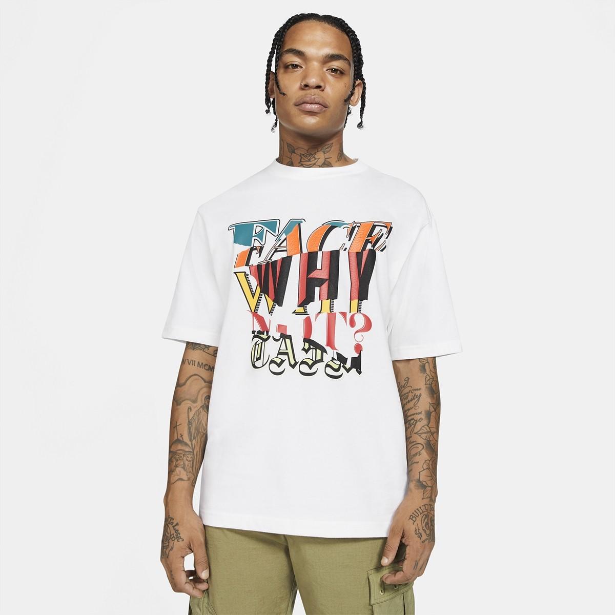 Camiseta Jordan WHY NOT? by FACETASM SS 'White'