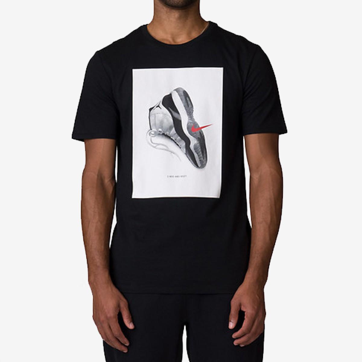 Jordan AJ11 Concord T-Shirt 'Black'