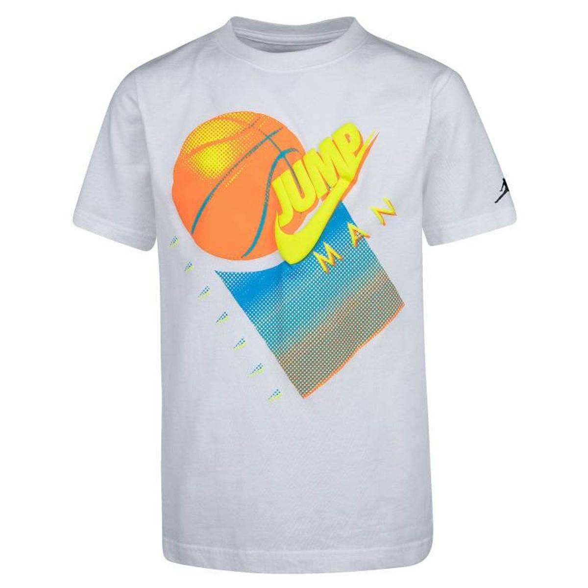 Camiseta Jordan Brand Graphic Crew 1 'White'