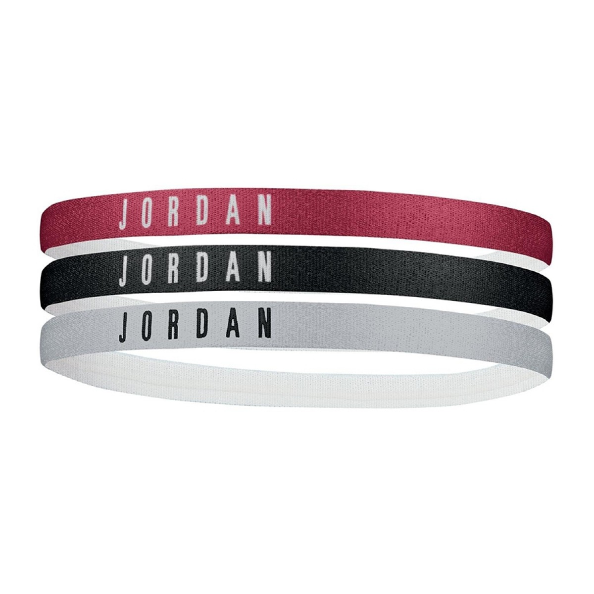 Jordan Headband 3 Pack 'Black/Red/Grey'