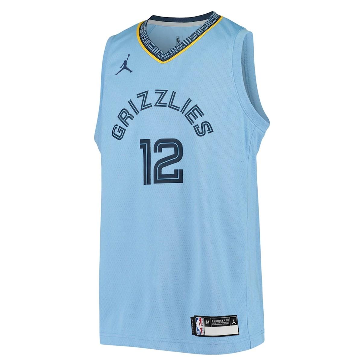 Jordan Jr NBA Memphis Grizzlies Swingman Jersey Ja Morant 'Statement Edition'