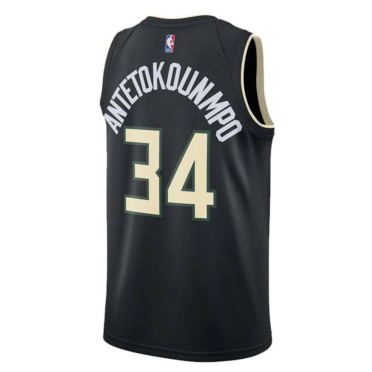 Jordan Jr NBA Milwaukee Bucks Swingman Jersey Antetokounmpo 'Statement Edition'-EY2B7BXAP-BCKGA