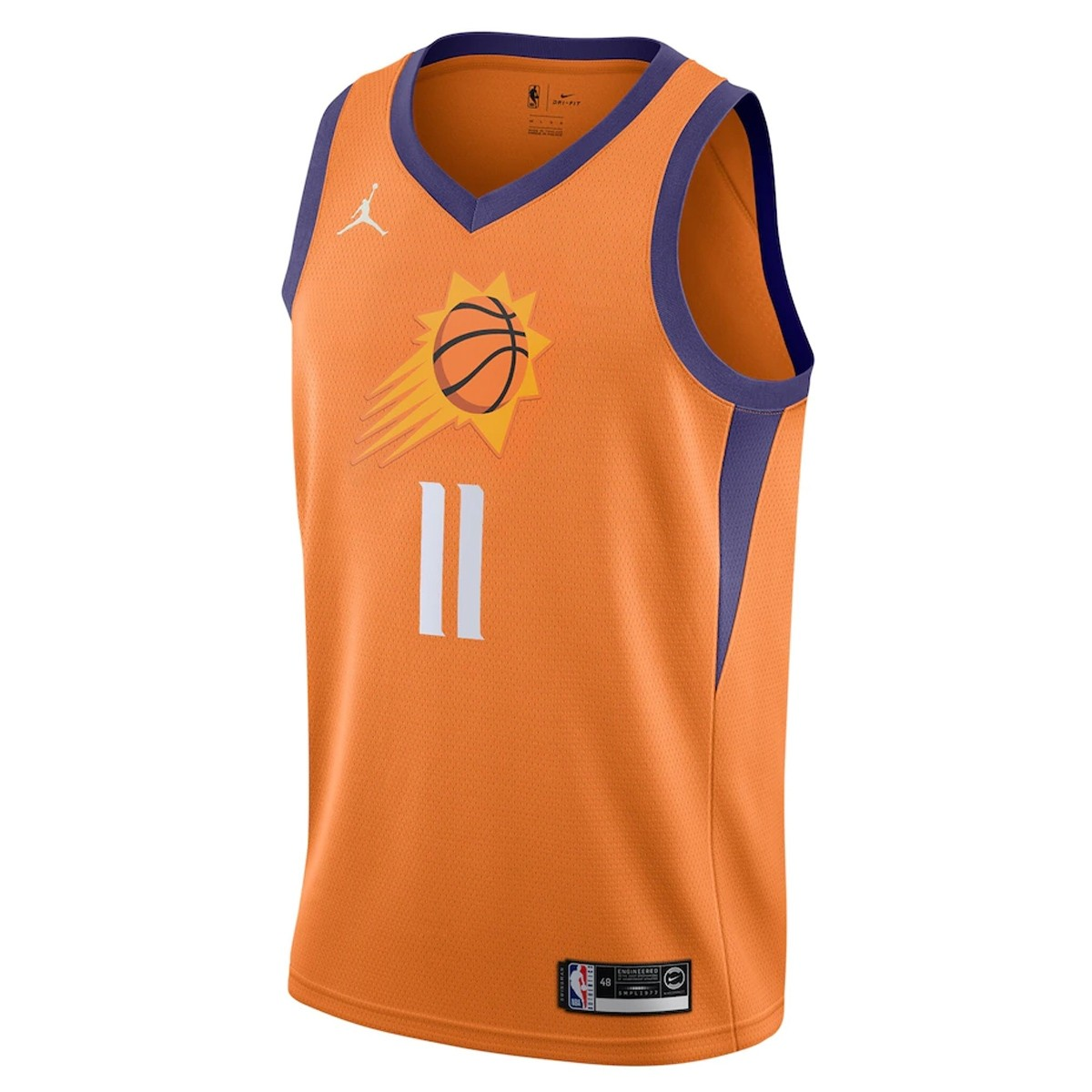 Jordan Jr NBA Phoenix Suns Swingman Jersey Ricky Rubio 'Statement Edition'
