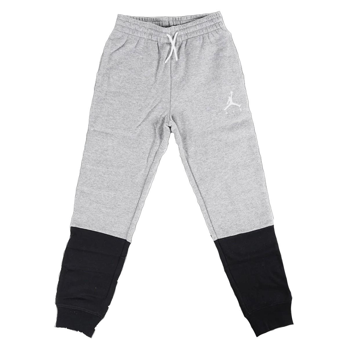 Pantalón Largo Jordan Jumpman Air Fleece 'Carbon Heather'