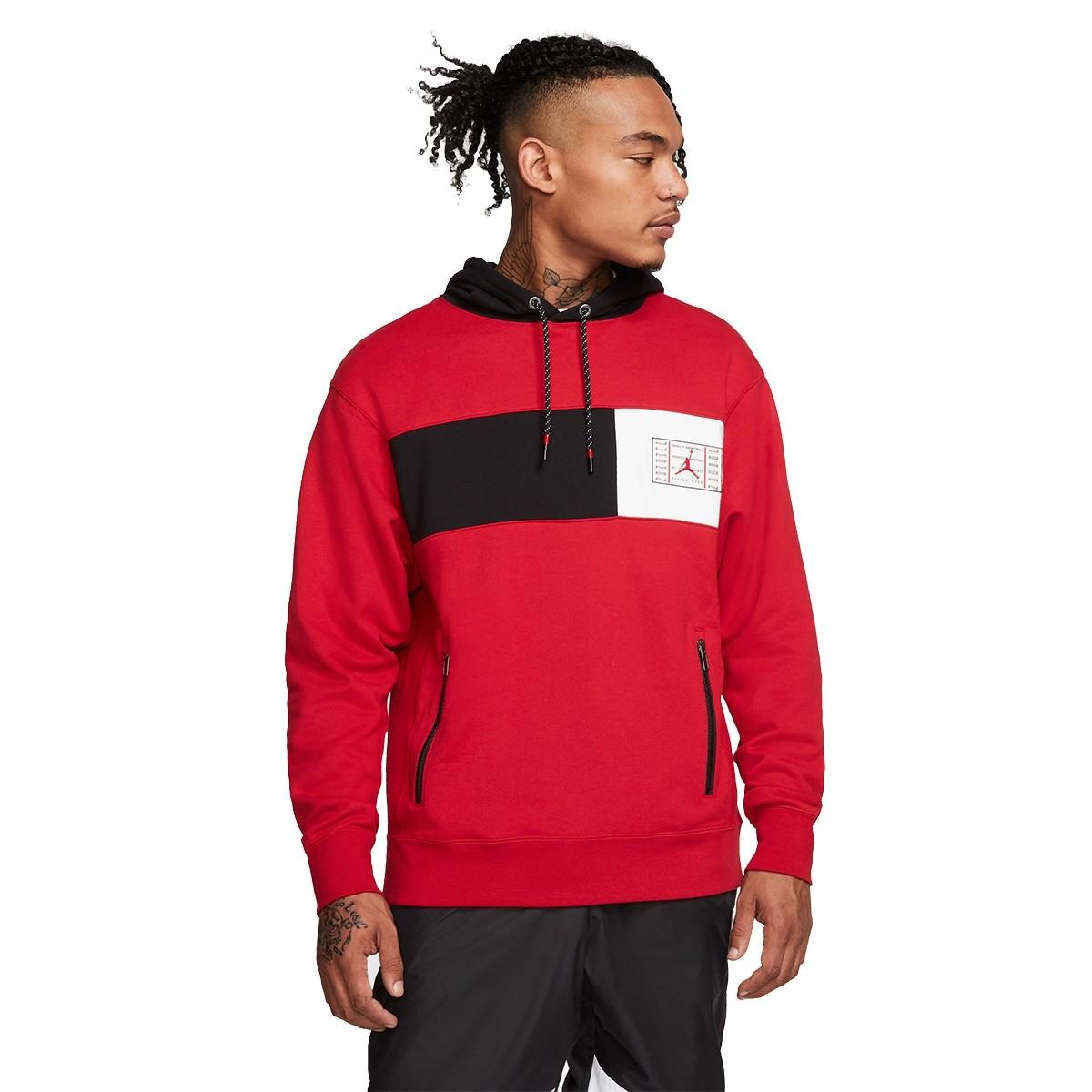 Jordan Legacy hoodie AJ11 'Red'-CU1508-687