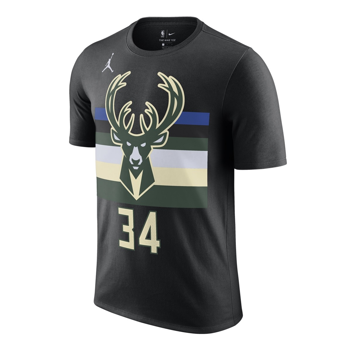 Jordan NBA Milwaukee Bucks Nick Name Tee Giannis Antetokounmpo 'Statement Edition'