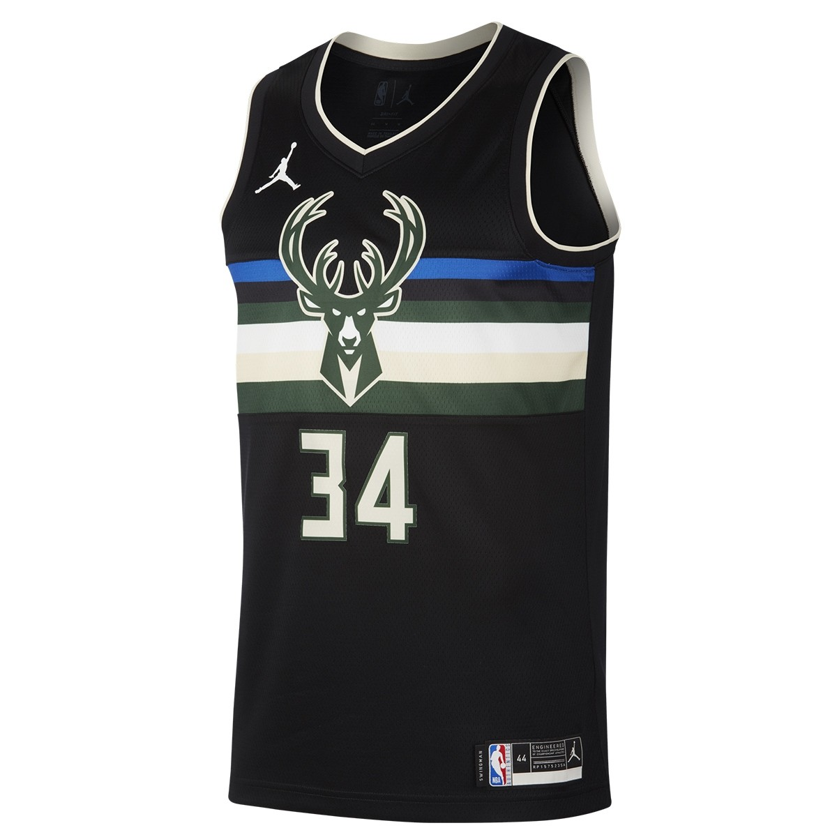 Jordan NBA Milwaukee Bucks Swingman Jersey Antetokounmpo 'Statement Edition'