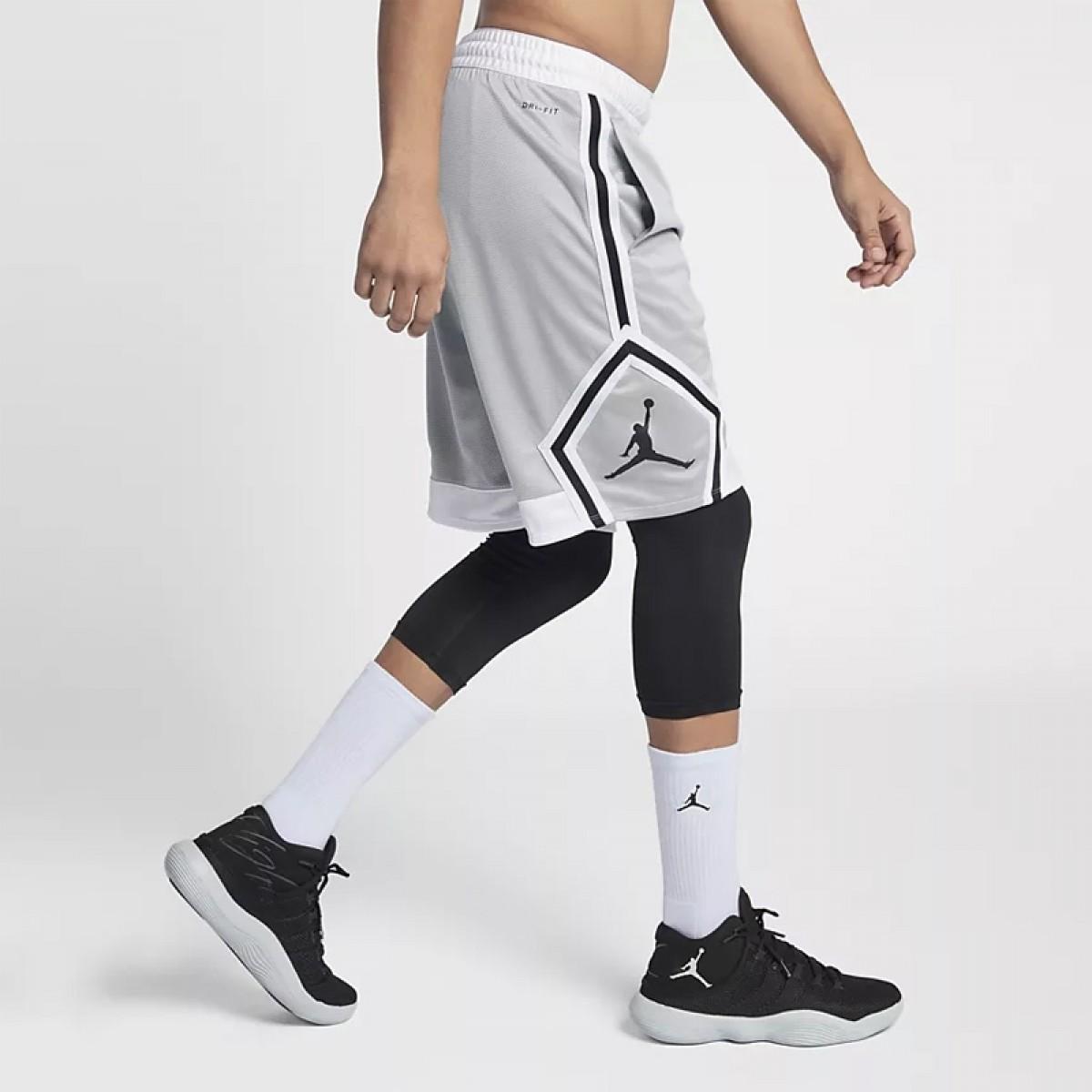 Jordan Rise Diamond Short 'Grey'