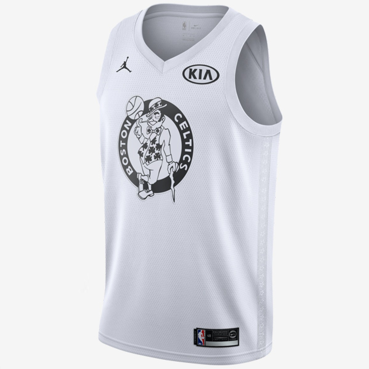 Jordan Swigman Jersey All-Star edition Irving 'White'