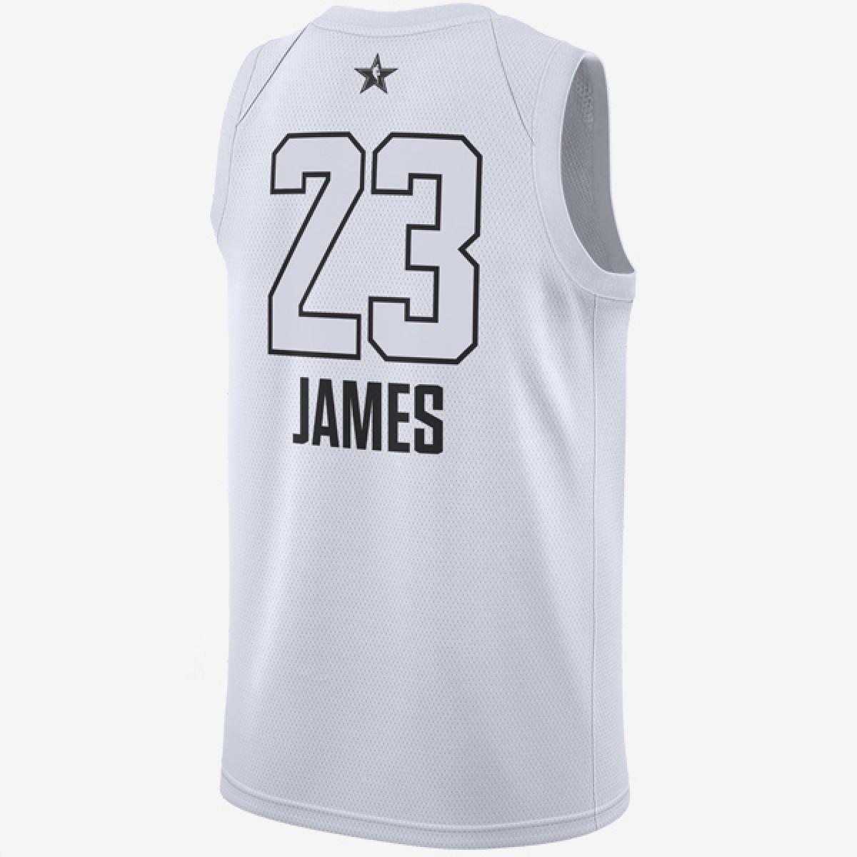 Jordan Swigman Jersey All-Star edition Lebron 'White' 928874-100