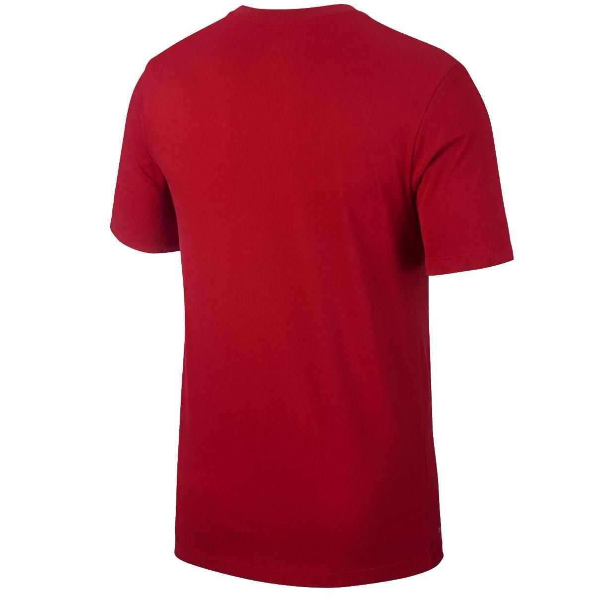 Jordan T-Shirt Streets to Stadiums 'Red' AT0560-687