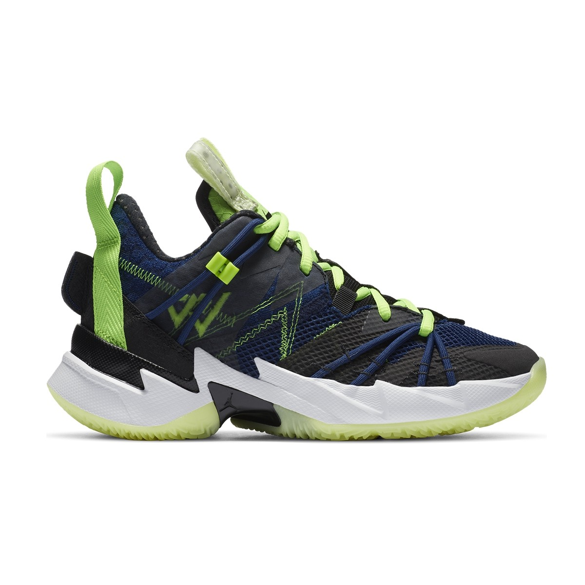 Jordan Why Not Zer0.3 SE Jr 'Navy & Volt'