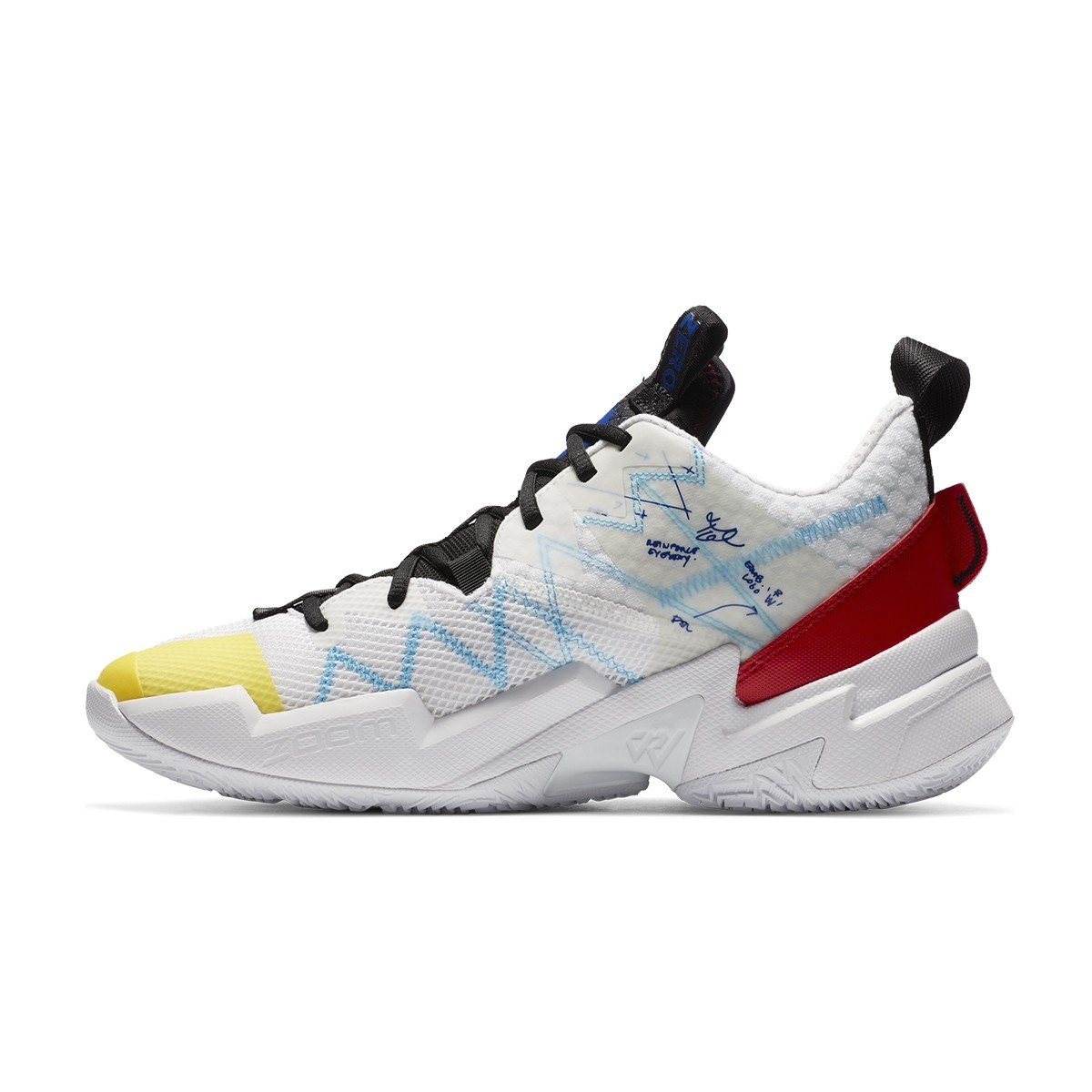 Jordan Why Not Zer0.3 SE 'Primary Colors'-CK6611-100