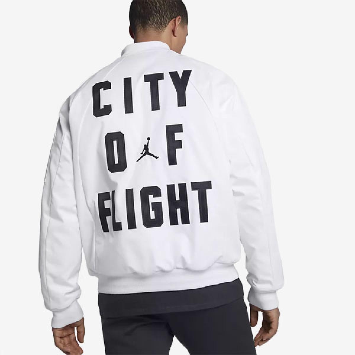 Jordan Wings White Jacket 'City of Flight'