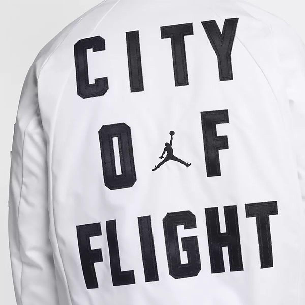 Jordan Wings White Jacket 'City of Flight' 911313-100