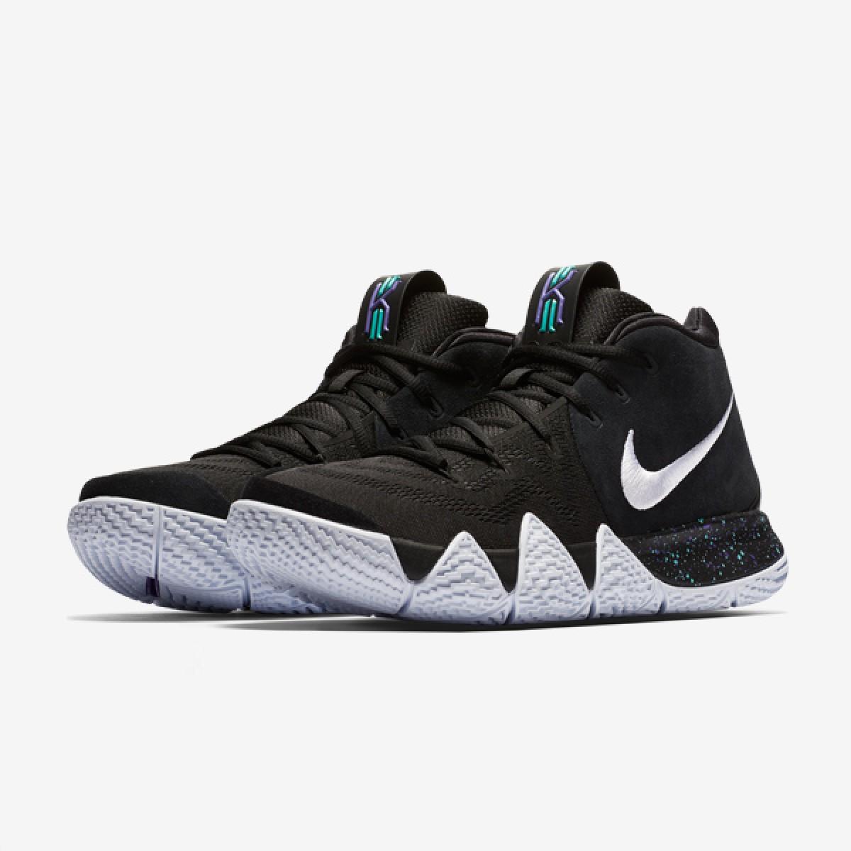 25a5b75967d Comprar Nike Kyrie 4  Black White  Zapatillas Baloncesto y mucho más