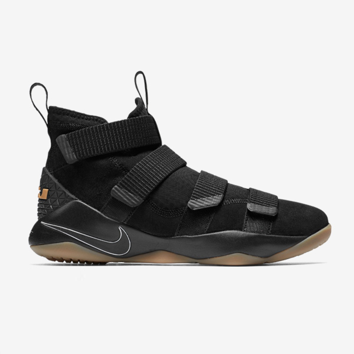 Nike Lebron Soldier XI 'Black Gum'