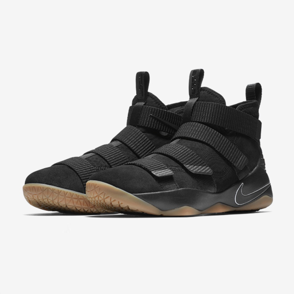 Nike Lebron Soldier XI 'Black Gum' 897644-007