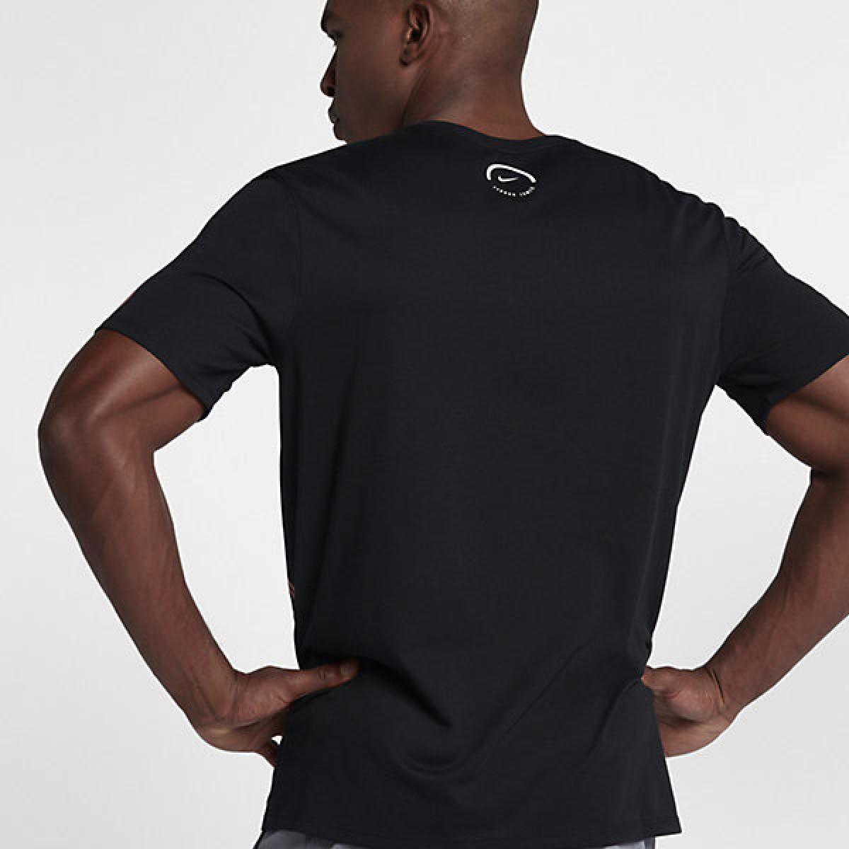 Nike LBJ dry tee famous 'Black' 882186-010