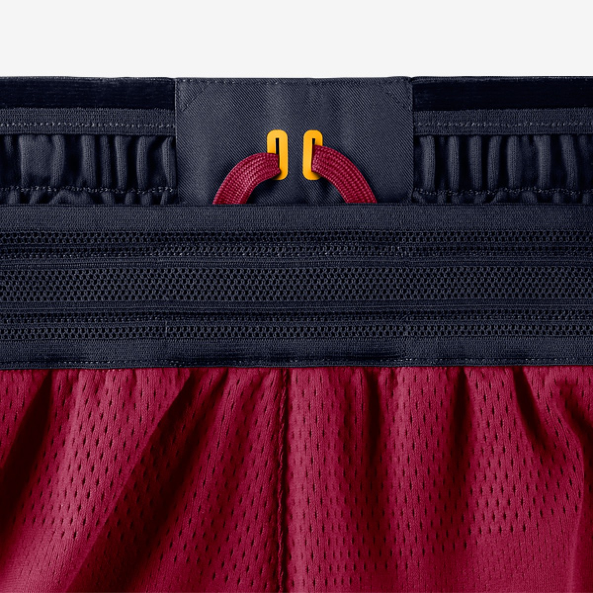 Nike NBA Cavs Authentic Short 'Icon Edition' 866375-677