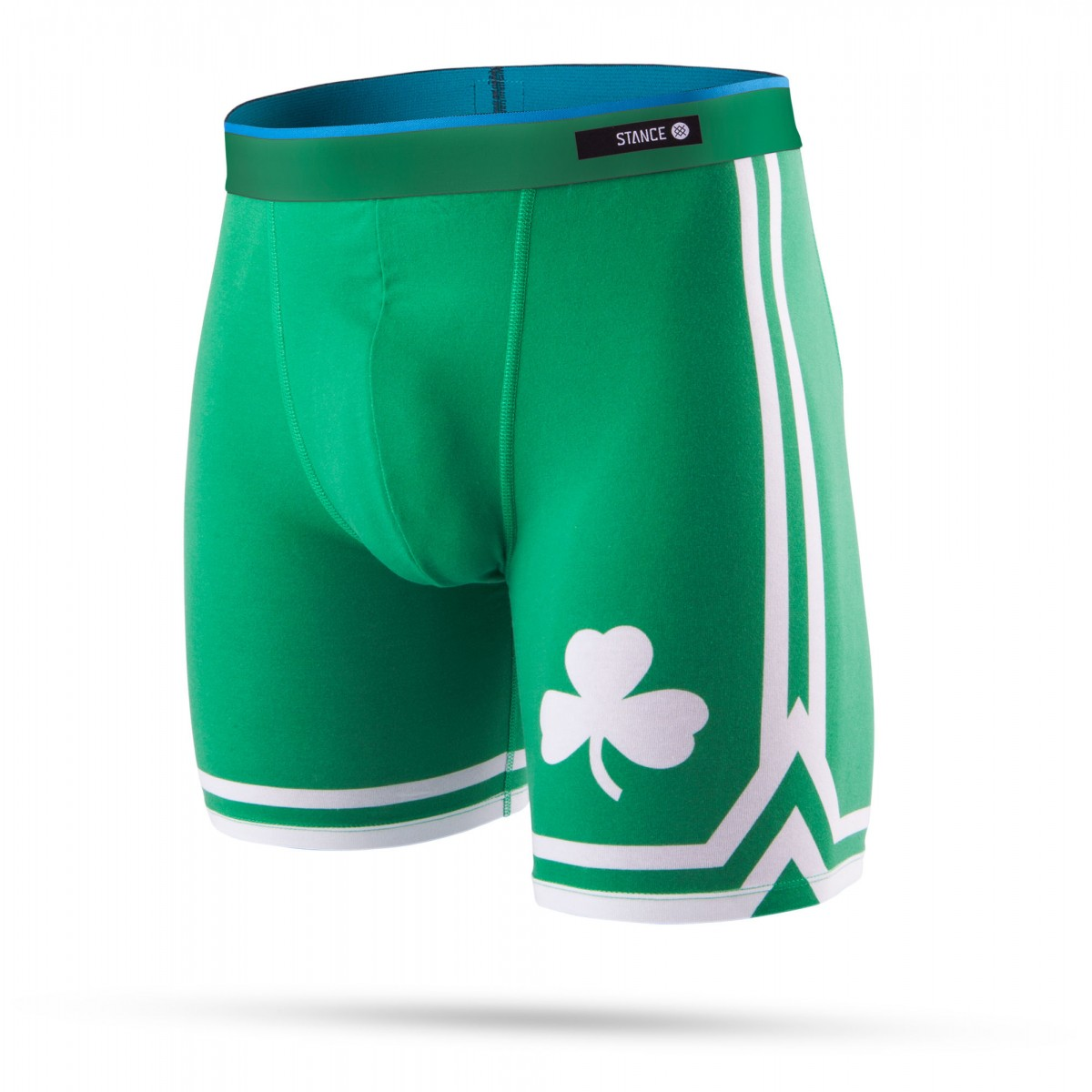 Stance Mens Underwear Fitted Boxer Brief 'Celtics'
