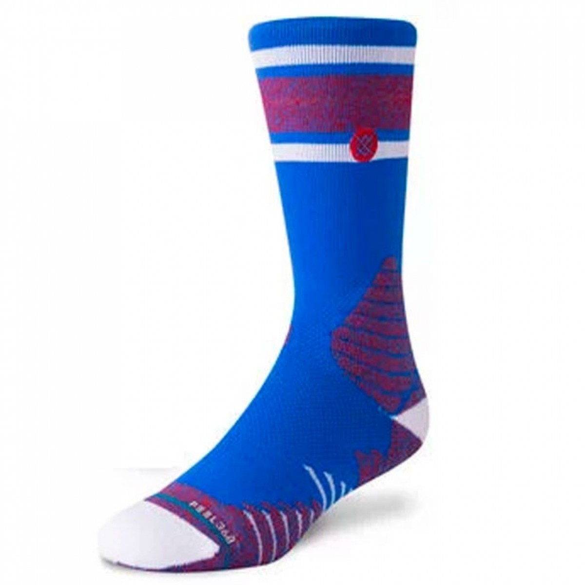Stance Game Day Stripe 'Blue Red'