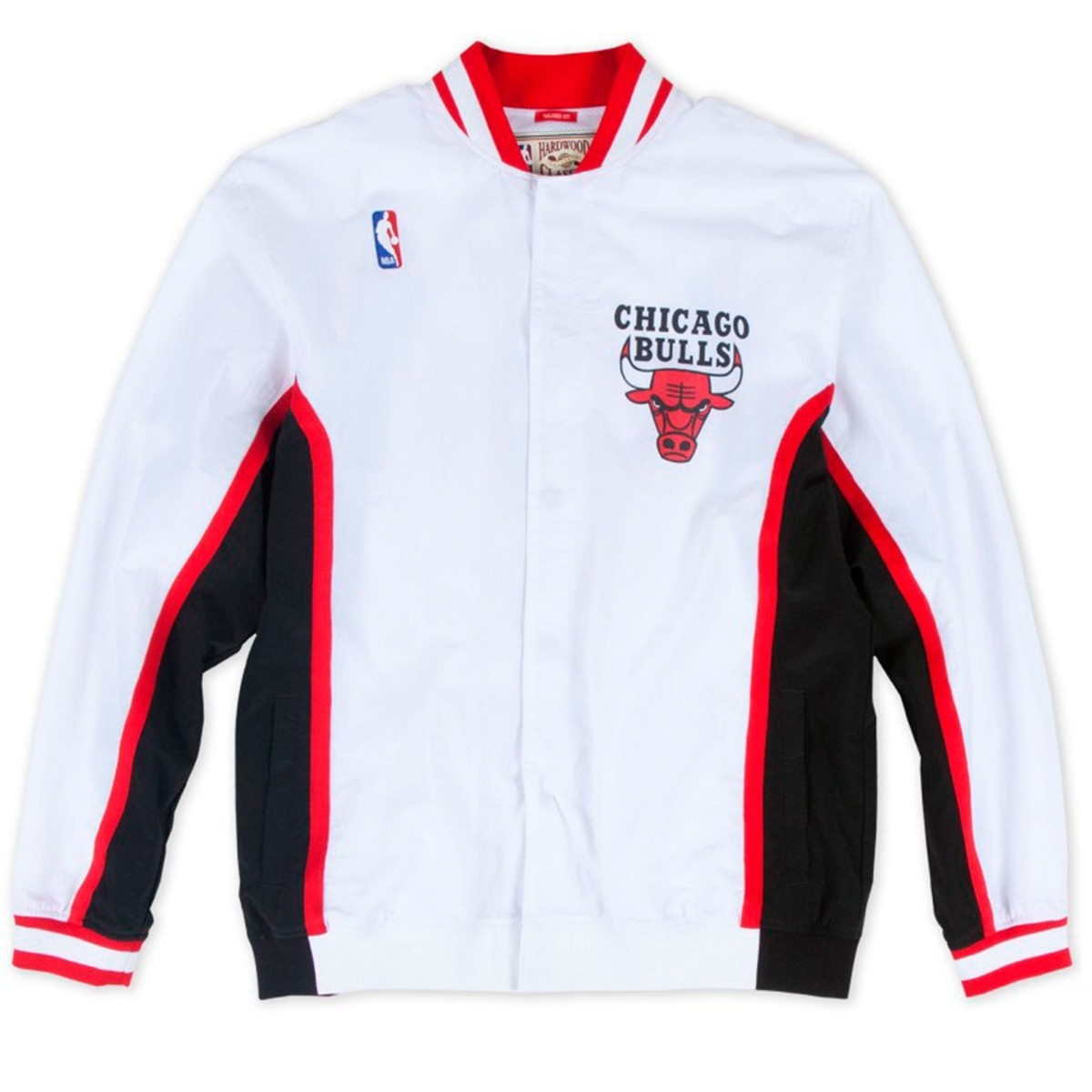 M&N Chicago Bulls Aut. Warmup Jacket 96-97 'White'-AWJKCP19042