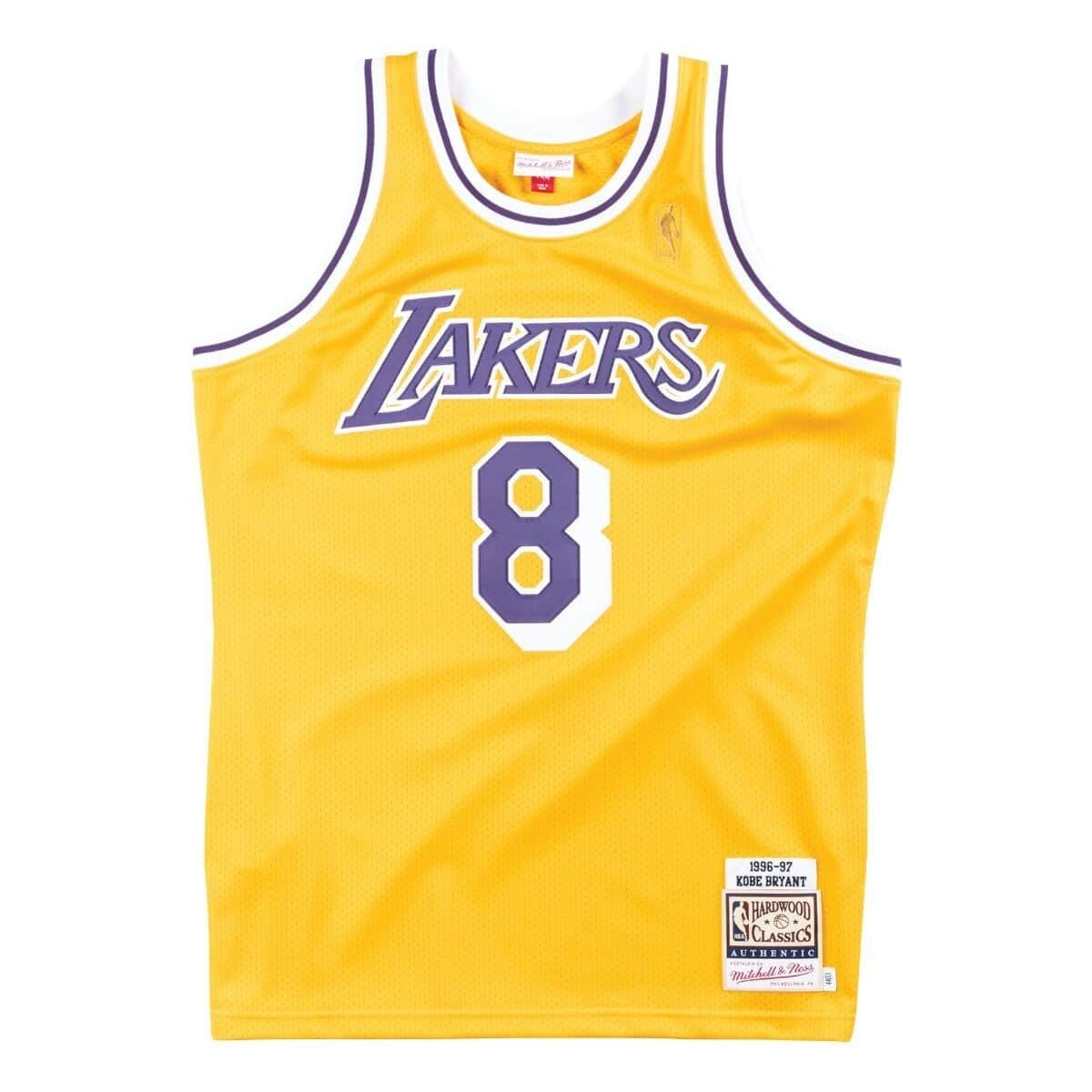 Mitchell & Ness Authentic Jersey L.A. Lakers Home Kobe Bryant '1996-97'