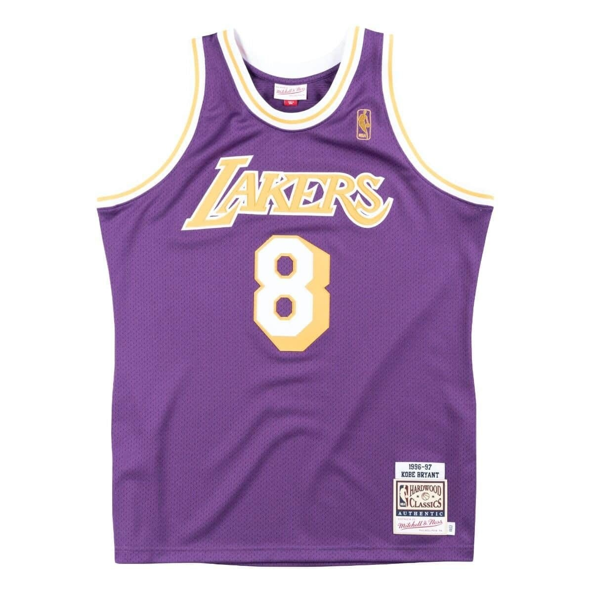 Mitchell & Ness Authentic Jersey L.A. Lakers Road Kobe Bryant '1996-97'