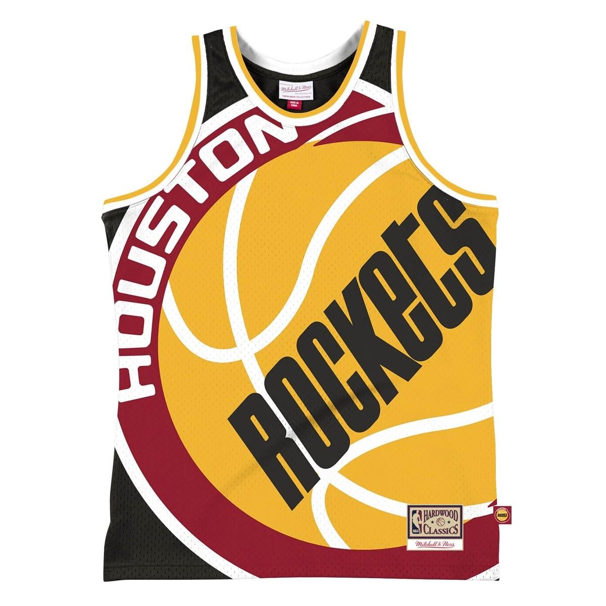 Mitchell & Ness Big Face Jersey 'Houston Rockets'