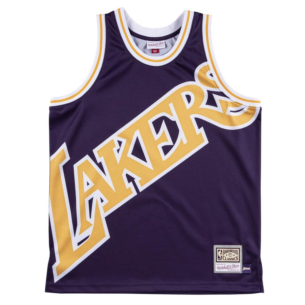 Mitchell & Ness Big Face Jersey 'Lakers'