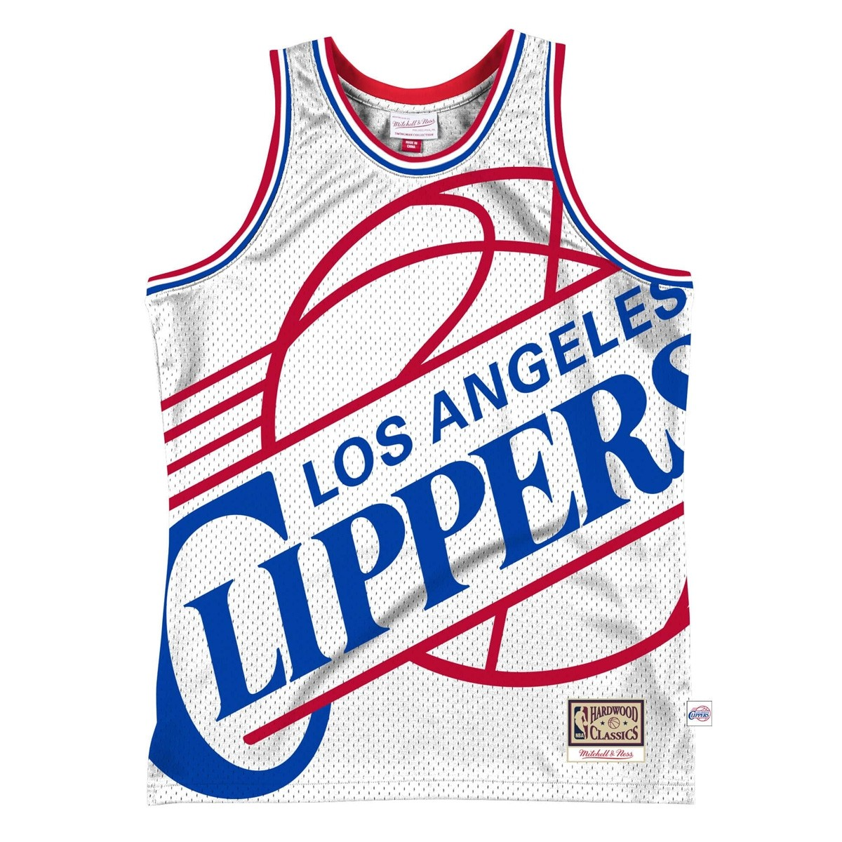 Mitchell & Ness Big Face Jersey 'Los Angeles Clippers'