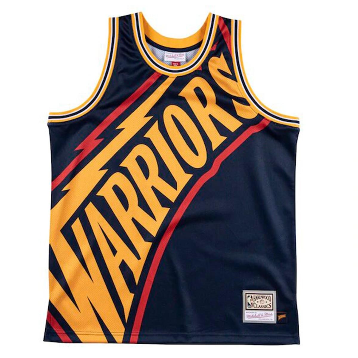 Mitchell & Ness Big Face Jersey 'Warriors'