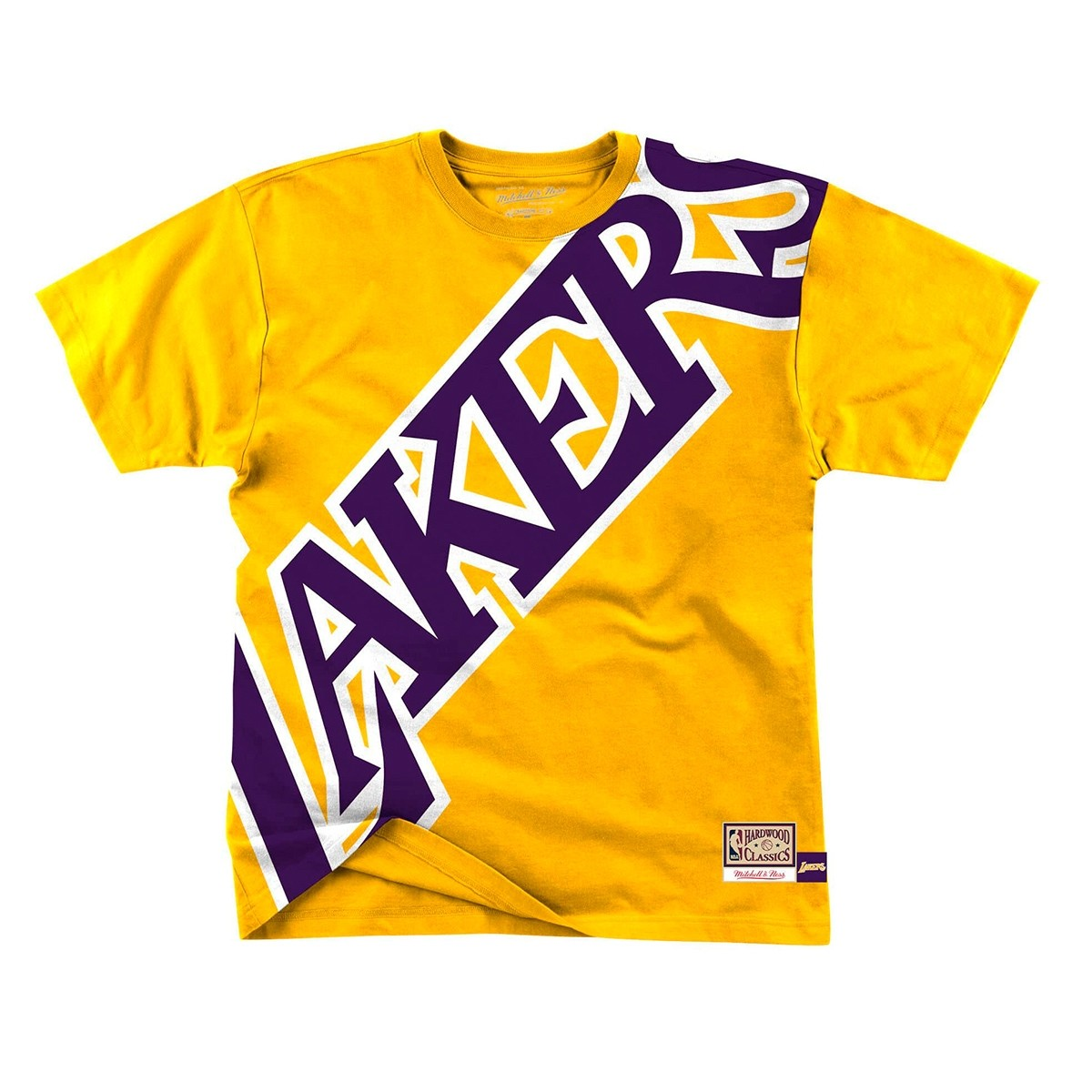 Mitchell & Ness Big Face Tee 'Lakers'
