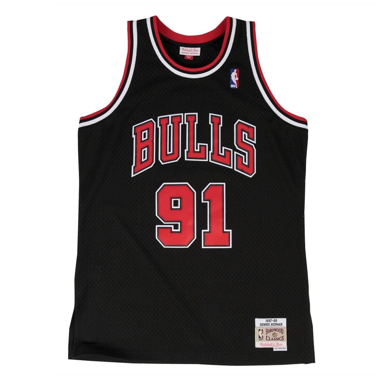 Mitchell & Ness Swingman Jersey Alternate Bulls Rodman '1997-98'