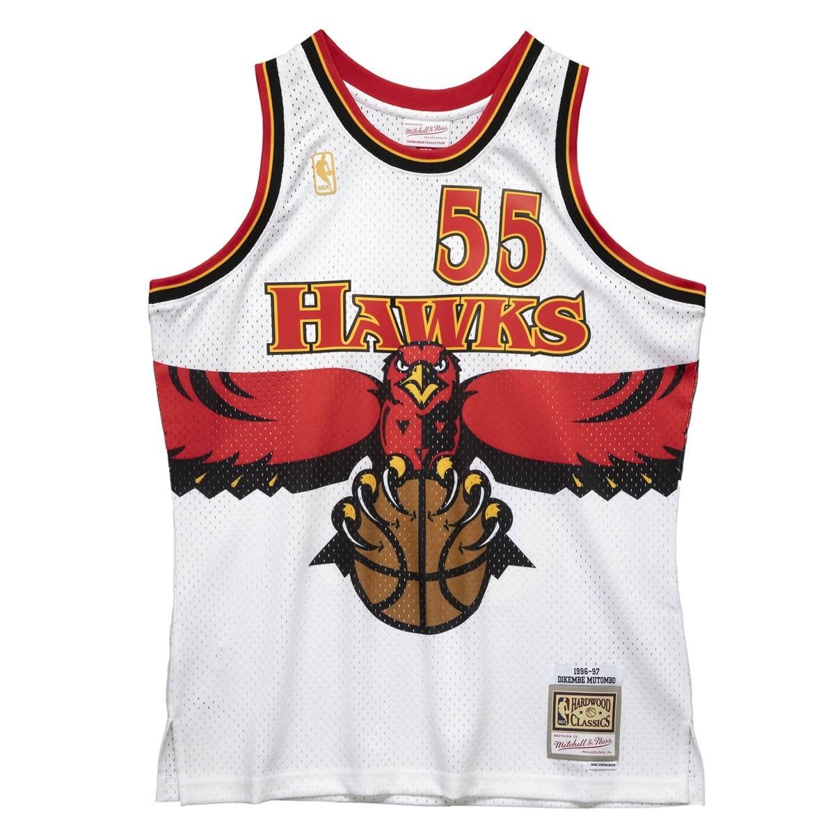 Mitchell & Ness Swingman Jersey Atlanta Hawks Dikembe Mutombo '1996-97'
