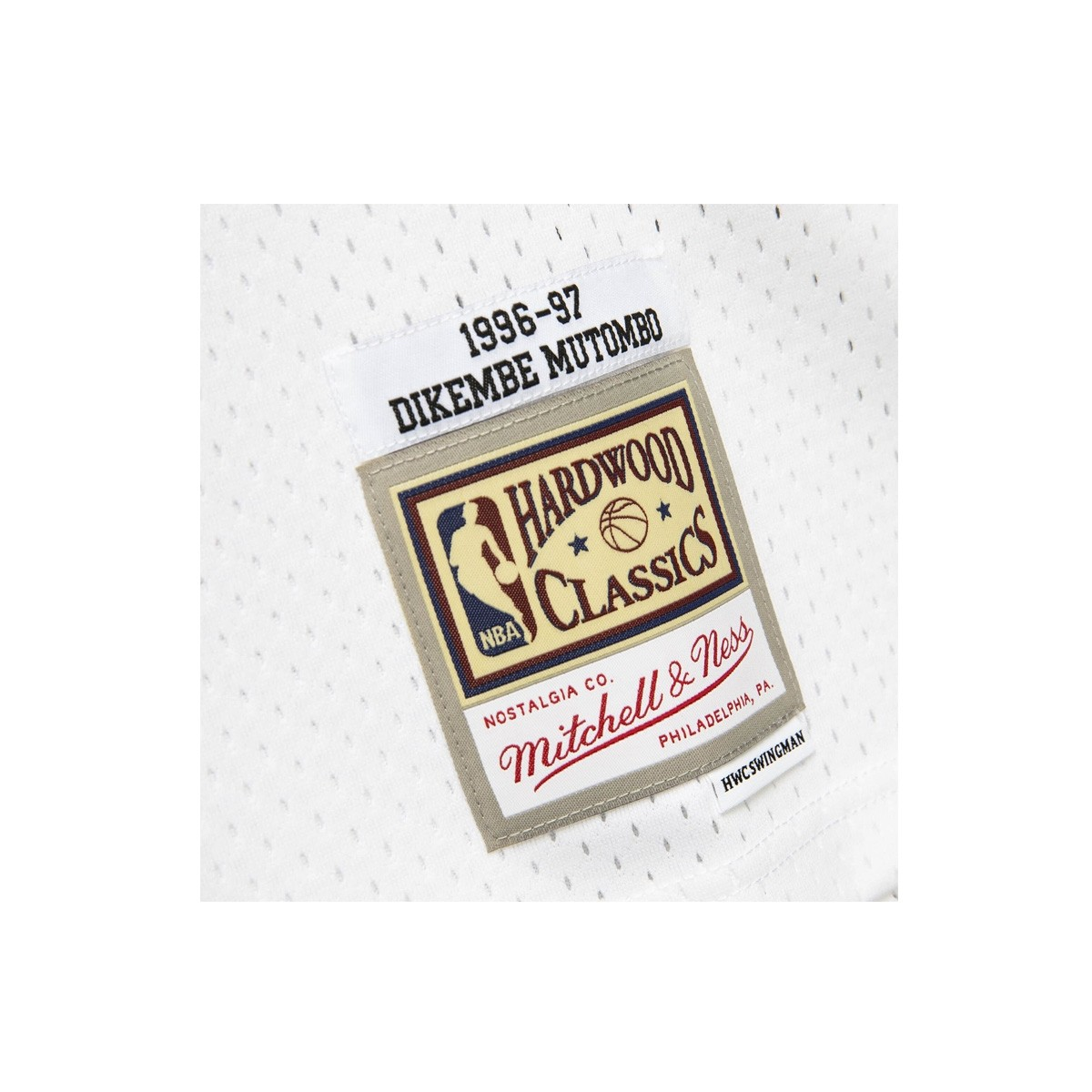 Mitchell & Ness Swingman Jersey Atlanta Hawks Dikembe Mutombo '1996-97'-SMJYSB20009
