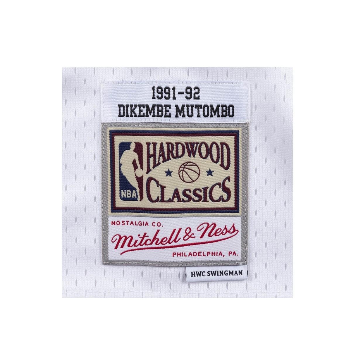 Mitchell & Ness Swingman Jersey Denver Nuggets Dikembe Mutombo '1991-92'-SMJYAC18083