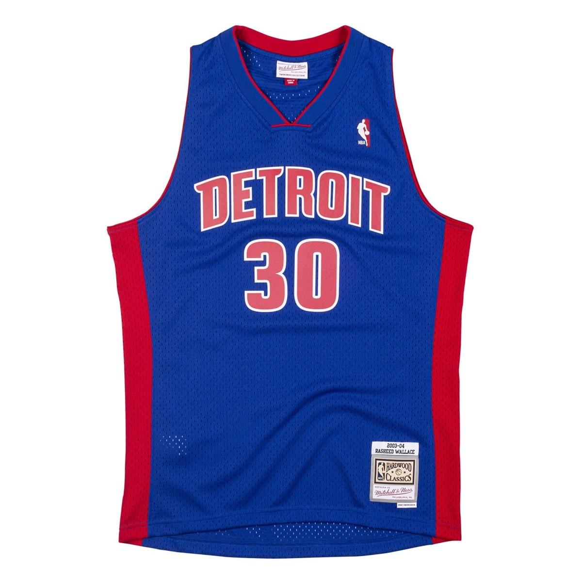 Mitchell & Ness Swingman Jersey Detroit Pistons Rasheed Wallace '2003-04'
