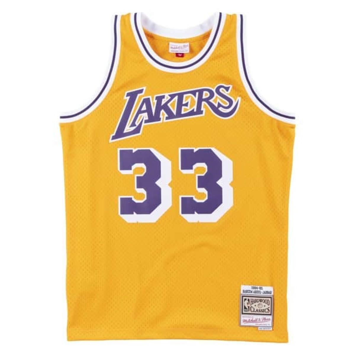 Mitchell & Ness Swingman Jersey Los Angeles Lakers 1984-85 'Kareem Abdul-Jabbar'