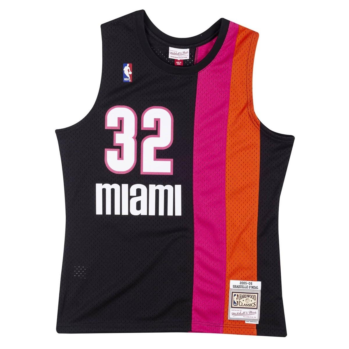 Mitchell & Ness Swingman Jersey Miami Heat Shaquille Oneal '2005-06'